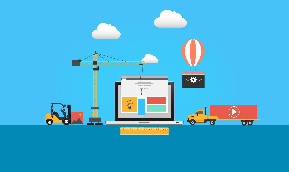 Page d'accueil attractive et efficace - Présentez votre entreprise