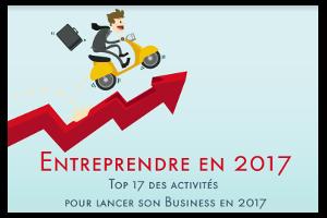 Ressources Infographie entreprendre en 2017