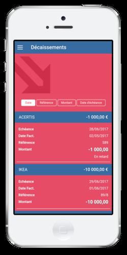 expert comptable digital startup tableau de bord décaissements
