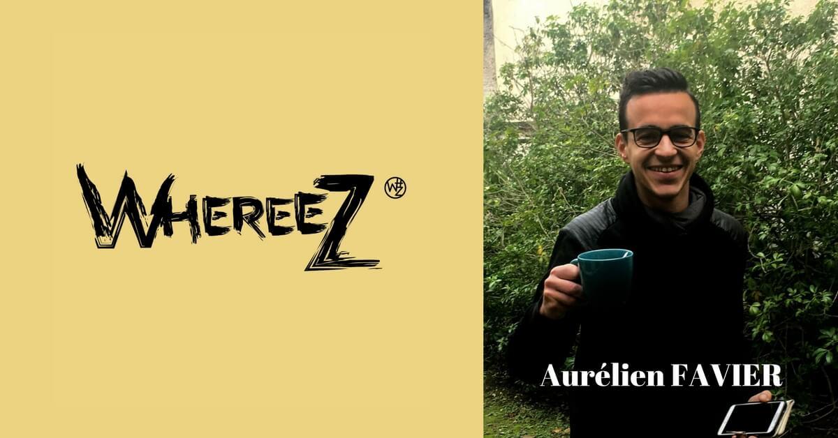entrepreneurs startups whereez aurelien favier