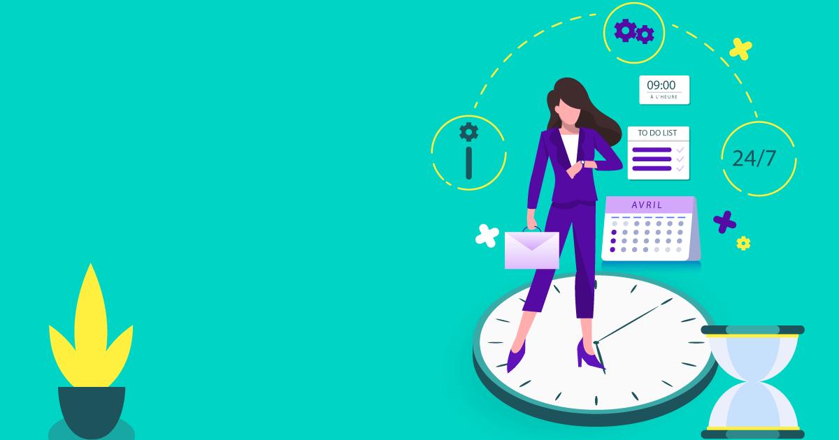 Gestion du temps de travail : 7 façons d'être plus productif au travail